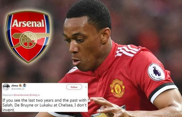 Manchester United star Anthony Martial 'disappointed' over failed Arsenal transfer in January window as his cousin slates Jose Mourinho on Twitter