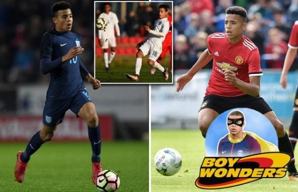 Mason Greenwood: He's the Man United boy wonder who's been attracting glancing eyes from the blue half of Manchester