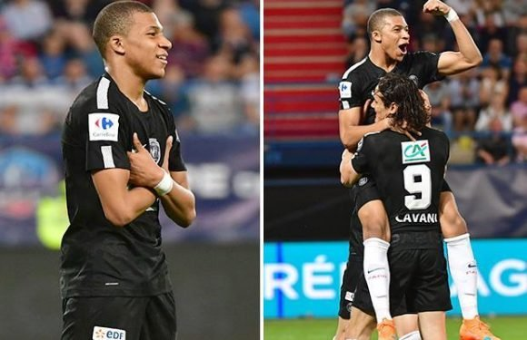 Caen 1 PSG 3: Kylian Mbappe at the double in French Cup semi to set up final clash with minnows Les Herbiers