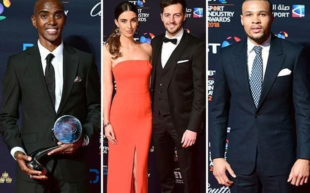 Mo Farah, Ryan Mason and Chris Eubank Jr among stars to hit the red carpet for BT Sport Industry Awards