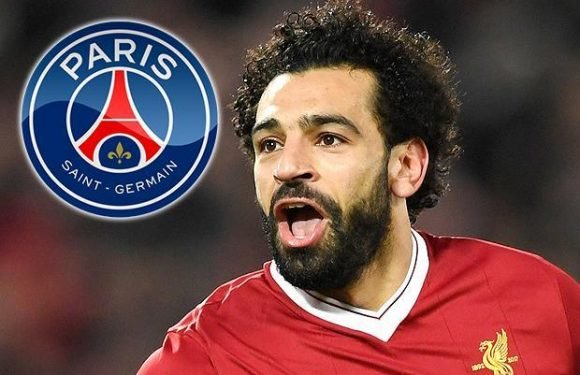 Liverpool star Mohamed Salah being chased by PSG with Ligue 1 side allegedly making contact with the Reds forward