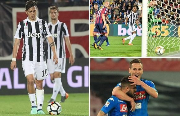 Crotone 1 Juventus 1: Napoli move within four points of Serie A champions with huge title clash on the horizon