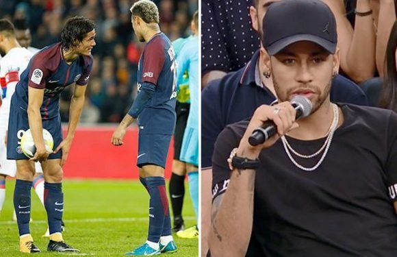 Neymar confirms rift with PSG team-mate Edinson Cavani — but insists pair quickly settled differences