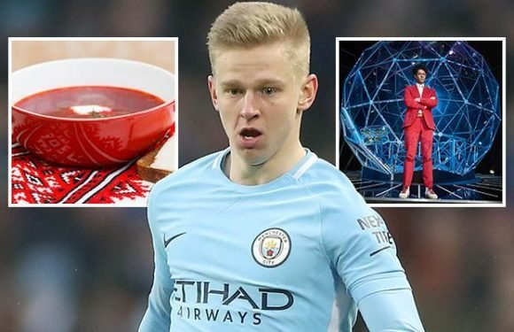 Man City starlet Oleksandr Zinchenko admits English life is 'not for him' as he slates British food and TV shows