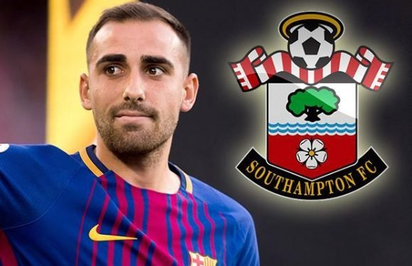Southampton want Barcelona striker Paco Alcacer to boost frontline if they stay in Premier League