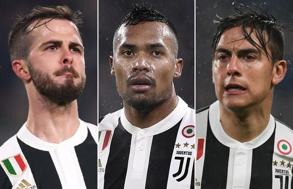One of Paulo Dybala, Miralem Pjanic or Alex Sandro reportedly set to leave Juventus this summer as big clubs circle