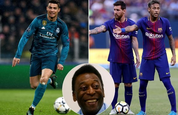Pele claims PSG star Neymar is more like former Barcelona team-mate Lionel Messi than Real Madrid rival Cristiano Ronaldo