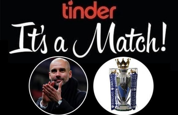 Manchester City hook up with dating app Tinder after Liverpool heartbreak as club announce surprise sponsor