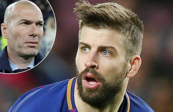 Gerard Pique jokes he 'won't sleep' over Real Madrid not giving Barcelona guard of honour should they clinch La Liga title