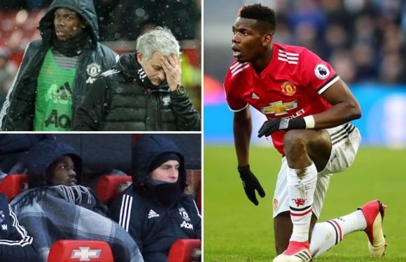 Paul Pogba can leave Manchester United this summer as Jose Mourinho 'loses patience' with record signing