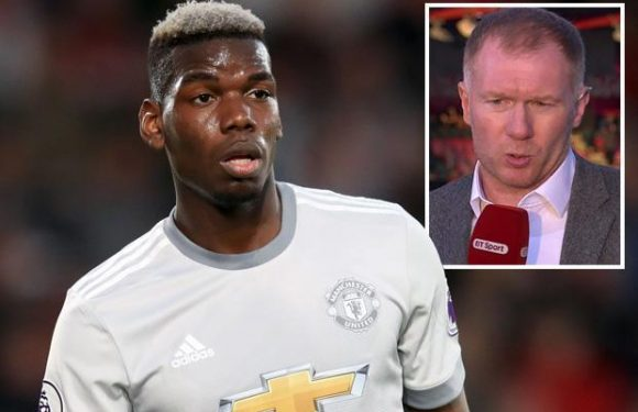 Paul Scholes reckons Paul Pogba could leave Manchester United this summer as he slates ace's performance