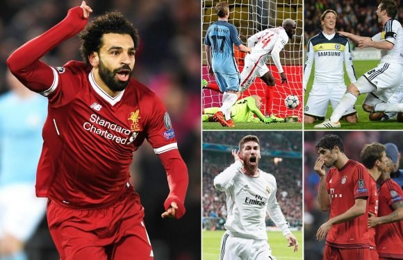 Liverpool have a great chance to win the Champions League if they beat Man City as Pep Guardiola has only ever lost six knockout ties in the competition… and four of those teams lifted the trophy
