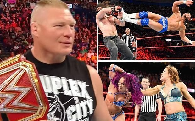 WWE Raw results: Fans turn on Brock Lesnar and Roman Reigns while Ronda Rousey attacks Mickie James