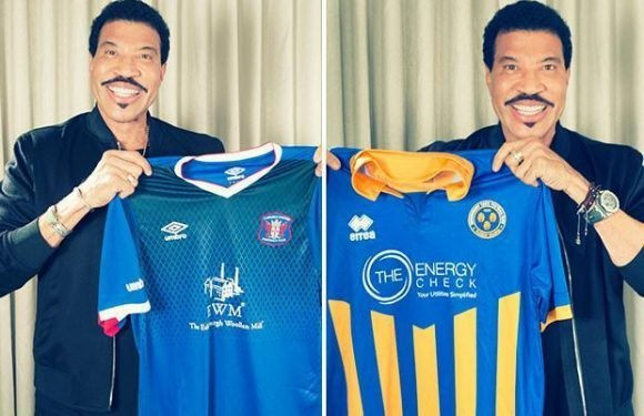 Pop legend Lionel Richie sends good luck message to Chesterfield with gig lined up at Proact Stadium