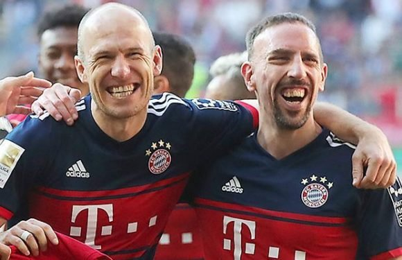 Bayern Munich legends Arjen Robben and Franck Ribery sign new one-year contract extensions