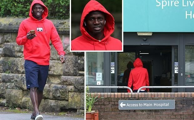 Sadio Mane injury fear as Liverpool's Champions League ace visits hospital with a limp