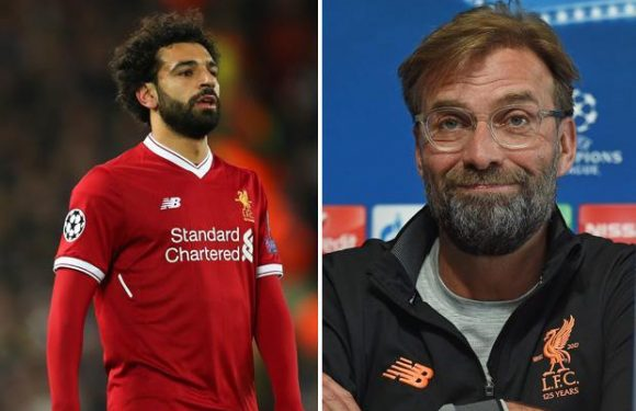 Liverpool boss Jurgen Klopp says he doesn't know if Mo Salah will be fit to play in the Champions League second-leg against Manchester City