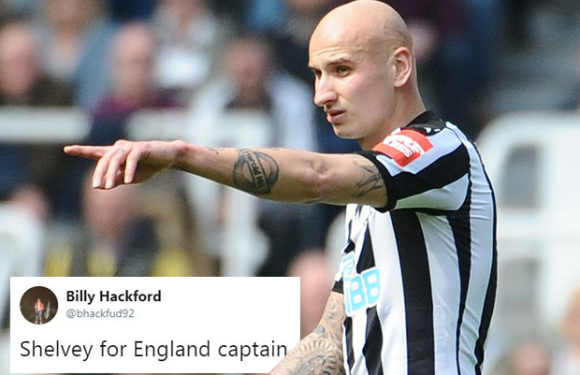 Jonjo Shelvey World Cup calls after Newcastle star's performance against Arsenal