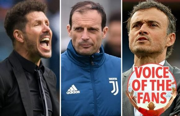 Arsenal fans want Massimiliano Allegri or Diego Simeone to replace Arsene Wenger at the Emirates in exclusive SunSport poll