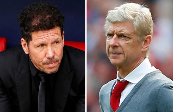 Arsenal have to appoint Atletico Madrid boss Diego Simeone to replace Arsene Wenger, urges Gary Neville