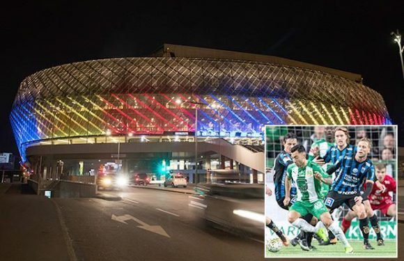 Swedish football rocked after woman allegedly raped at top-flight match between Hammarby and Sirius