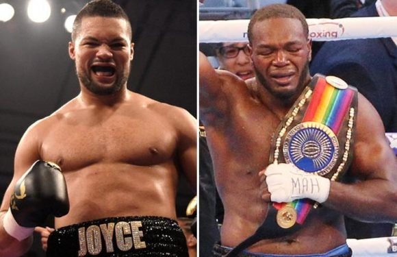 Joe Joyce to fight Lenroy Thomas for Commonwealth title on undercard of David Haye clash against Tony Bellew on May 5