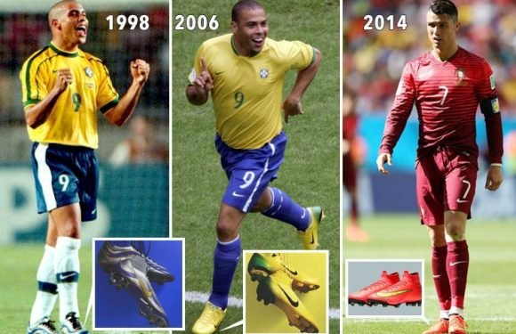 Nike re-release iconic World Cup boot designs to celebrate 20 years of the Mercurial