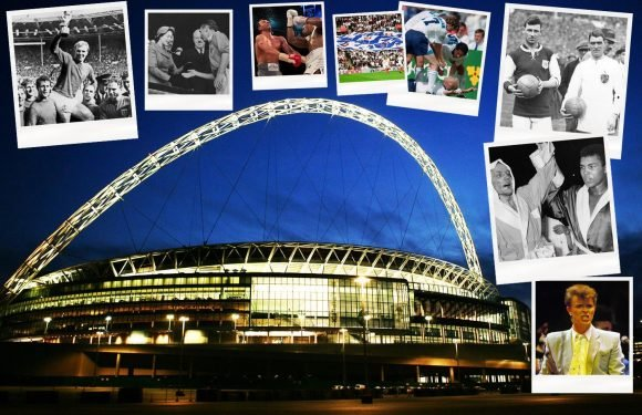 Wembley sold: From the White Horse Final and World Cup 1966 to Live Aid and the NFL… the incredible history of the famous stadium from 1923 to 2018