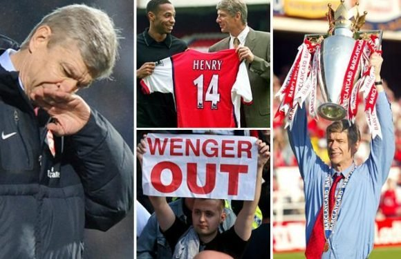 As Arsene Wenger quits Arsenal, take a look back at the French boss' 22-year stay in North London