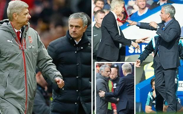 Arsene Wenger begs Jose Mourinho not to goad him into one last battle when Arsenal travel to Manchester United