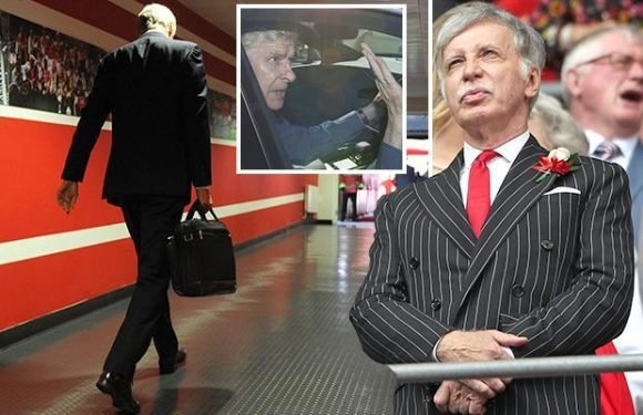 Arsene Wenger paid £11million to quit Arsenal one year early as board finally lose patience