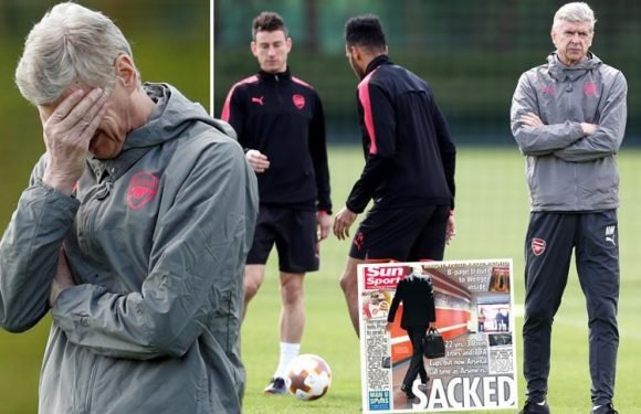 Arsene Wenger admits he was sacked by Arsenal as he prepares for the Europa League semi-final against Atletico Madrid