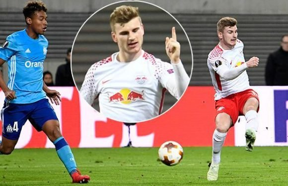 RB Leipzig 1 Marseille 0: Timo Werner gives Germans the advantage going into Champions League quarter-final second leg