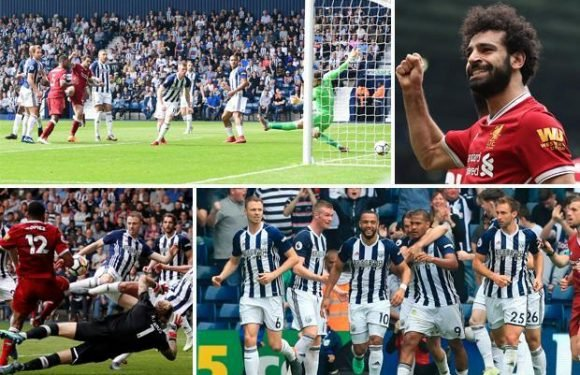 West Brom 2 Liverpool 2: Baggies salvage point as Kop throw away two goal lead to keep faint hopes of survival alive