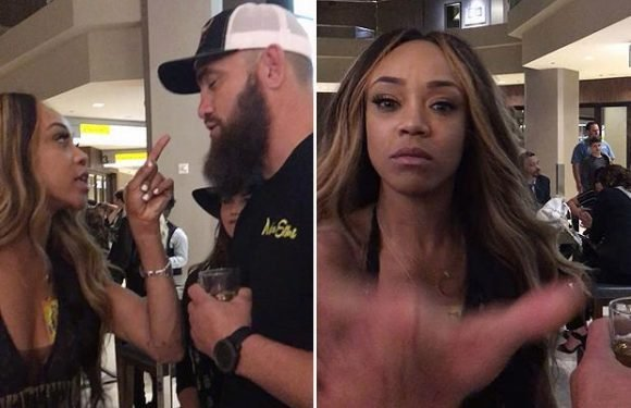 WWE Wrestlemania 34: Alicia Fox argues with Travis Browne ahead of partner Ronda Rousey's debut