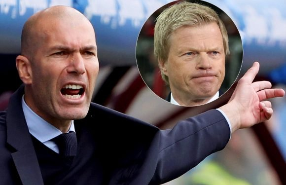 Real Madrid boss Zinedine Zidane would be a perfect fit for Bayern Munich, according to club legend Oliver Kahn