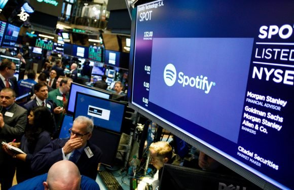 Spotify Stock Pops in IPO Debut, Before Cooling Down to $26 Billion Market Cap
