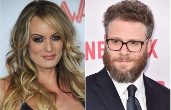 Seth Rogen knew about Stormy Daniels and Trump's alleged affair a decade ago