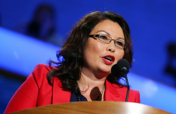 Tammy Duckworth is the first senator to give birth in office
