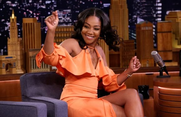Tiffany Haddish: Brad Pitt date acted out with Jimmy Fallon on The Tonight Show