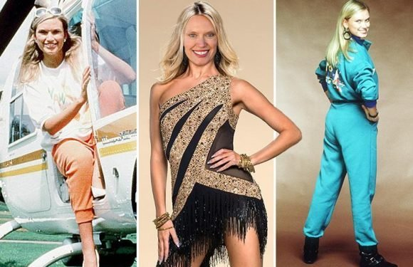 Anneka Rice, 59, and her famous bottom being lined up for Strictly Come Dancing