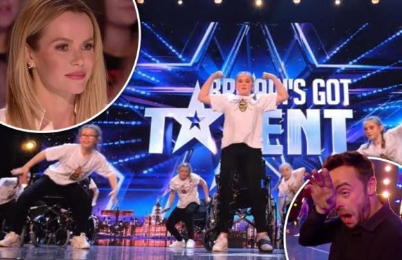 Britain's Got Talent viewers in tears as Manchester bomb survivor Hollie Booth auditions with her dance group