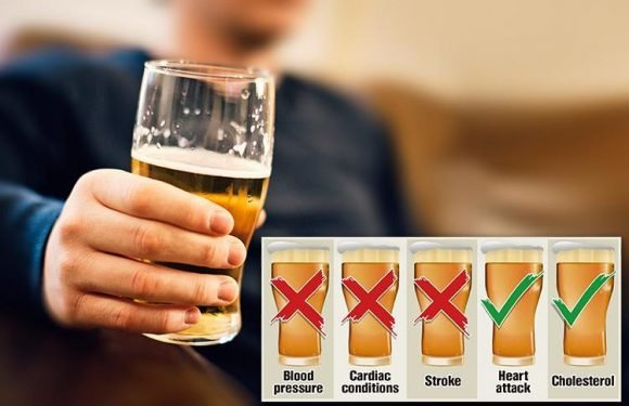 Strict booze rules should be lowered AGAIN — to just five pints a week
