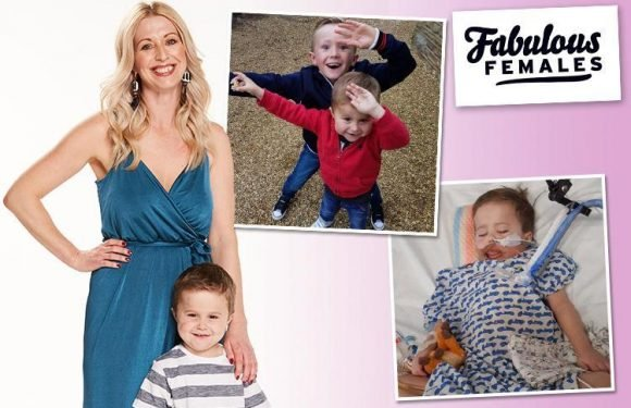 Inspiring sister Emma raised £96k for sick kids while her son fought for his life — meet the second winner of our Fabulous Females contest