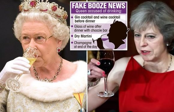 Russia brands Queen and Prime Minister Theresa May heavy alcohol drinkers as fake news blitz continues