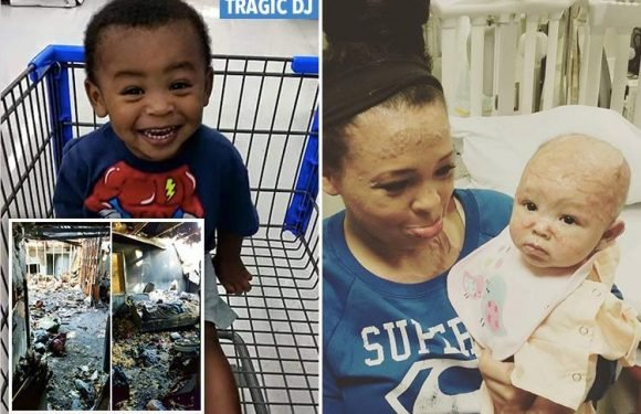Hero toddler saved mum and baby sister from raging house fire but died after running back to hide in his bedroom