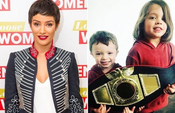Frankie Bridge reveals why she refuses to take children off social media despite receiving death threats
