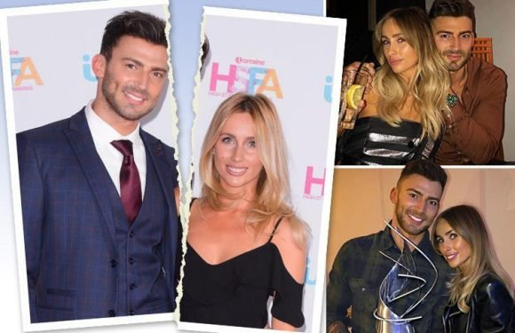 Jake Quickenden splits from fiancée Danielle Fogarty seven months after proposing