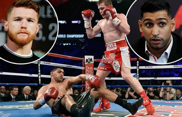 Amir Khan slams Saul Alvarez and says he will always be remembered as a drugs cheat