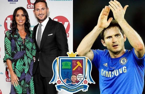 Frank Lampard has been granted his own coat of arms, joining some of the poshest families in Britain